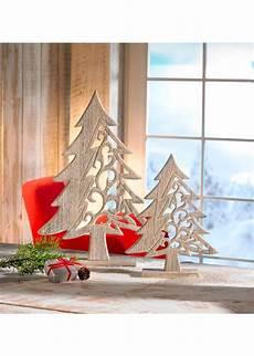 Weihnachtsdeko 2015 Holz - weihnachtsdeko quot tannenbaum quot aus holz 2 tlg set