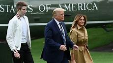 barron trump 2021 trump s son barron had covid 19 says first lady inews
