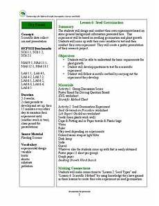 bean seed germination lesson plans worksheets reviewed