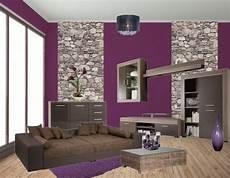 wohnzimmereinrichtung ideen lila living room decor