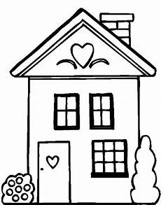 haus zum ausmalen and coloring pages for houses colouring
