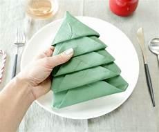 Tree Napkin Fold
