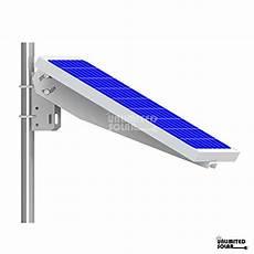 Befestigung Sonnensegel Hauswand - unlimited solar universal solar panel single arm pole