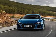 the new audi r8 has more power and better styling gear