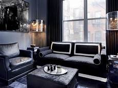 Black Gray And Living Rooms