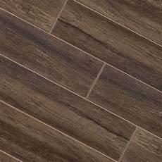 Fliesen Holzoptik Nussbaum - walnut wood plank porcelain modern wall and floor tile