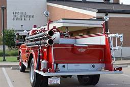 1957 Ford F600 Fire Truck  Freshly Restored 8150 Miles