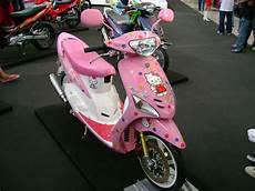 Skotlet Motor Mio by Modif Skotlet Hello Bikin Motor Tambah Pretty