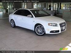 ibis white 2008 audi s4 4 2 quattro sedan black black interior gtcarlot com vehicle
