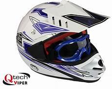 Motocross Helm Mit Brille - kinder motocross helm mit brille offroad dirt bike ebay