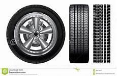 pneu et jante roue jante de pneu et d alliage illustration de vecteur