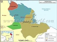 simbolos naturales del estado delta amacuro mapa del estado delta amacuro estado delta amacuro venezuela