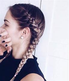 35 two braids hairstyles to double your style