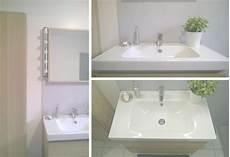 salle de bain gris bois salle de bain r 233 novation en gris blanc et bois