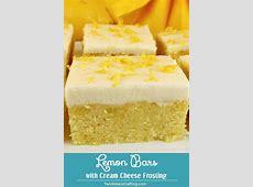 chocolate lemon cream bars_image