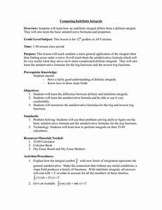 ap calculus indefinite integrals worksheet freeonlinequizzestests com