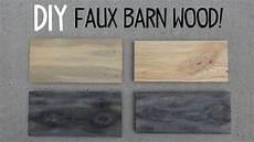 diy faux barn paint trick youtube
