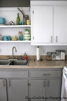 grace cottage updating old kitchen cabinets