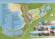 Plattegrond Vakantiepark Eiland Maurik