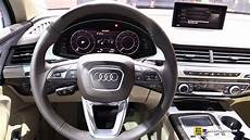 2018 audi q7 e interior walkaround 2017 frankfurt auto show youtube