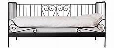 Ikea Meldal Single Day Bed Black Metal Frame With