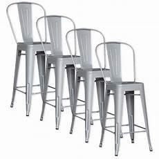 tabouret metal pas cher lot de 4 chaises de bar m 201 tal loft laqu 201 gris achat