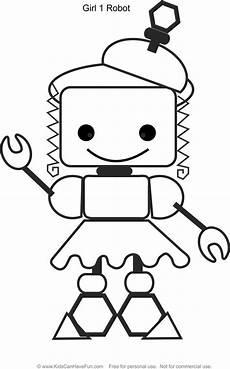 Malvorlagen Roboter Free Robot 1 Malvorlagen Www Kidscanhavefu Robot Color