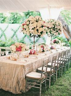 tables wedding receptions the magazine