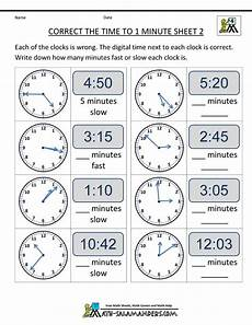time worksheets math salamander 3089 clock worksheets correct the time from math salamanders this is an interesting twist on the