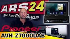 pioneer avh z7000dab 1 din autoradio mit ausfahrbarem
