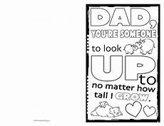 fathers day card template printable s day card to print colour