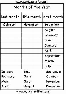 grammar worksheets year 4 25048 months of the year worksheet months of the year 4 worksheets worksheets months in a year