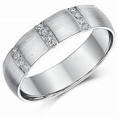 6mm palladium 950 diamond wedding ring band palladium rings at elma uk jewellery