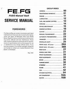 car repair manuals online pdf 1992 mitsubishi truck engine control 1992 1995 mitsubishi fuso fe fg truck service manual pdf download