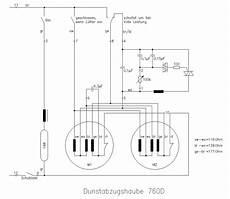 Dunstabzugshaube Anschluss Strom - schaltung motor mehrstufig mikrocontroller net