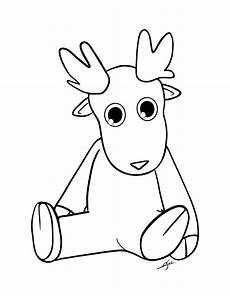 13 best reindeer coloring pages for