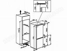 dimension frigo americain encastrable refrigerateur encastrable dimensions standard table de