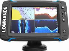 lowrance elite 7 ti gps fish finder with mid high downscan