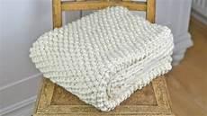 Babydecke Stricken Anleitung - wolldecke plaid blanket stricken vorstellung eines