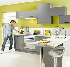 Decoration Cuisine Gris Et Jaune Cuisines Design