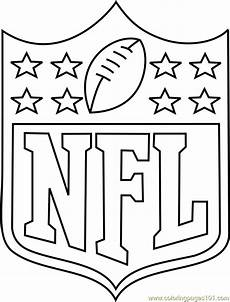 nfl sports coloring pages 17791 nfl logo coloring page free nfl coloring pages coloringpages101