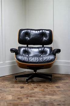 original charles and eames lounge chair by herman