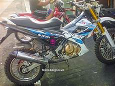 Satria Modif Trail by Modifikasi Suzuki Satria F Karbu Jadi Motor Trail