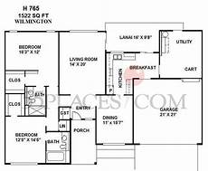 house plans wilmington nc h765 wilmington floorplan 1522 sq ft sun city west
