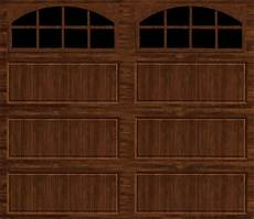 9 7 Garage Doors by Ideal Door 174 9 Ft X 7 Ft Walnut Pnl Carriage House
