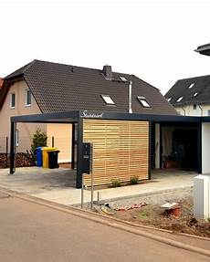 doppelcarport am haus carport hauswand haus anbau luxemburg 183 modern 183 stahlzart