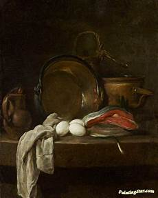 The Kitchen Jean Baptiste Simeon Chardin by Still The Kitchen Table Artwork By Jean Baptiste