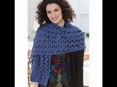 Diy Tutorial Crochet Simple Rectangular Shawl