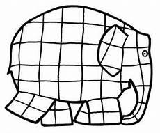 Ausmalbilder Elefant Elmar Elmar Elefant Ausmalbild Schule Elefant