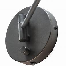 globe electric company adison 1 light plug in industrial wall sconce with hardwire conversion